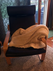 Even through there was much to learn, this blanket came out great!