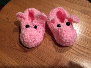 Piglet Booties Too