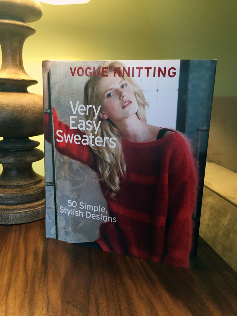 Vogue Knitting Easy Sweaters Book