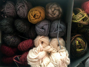 Organized Yarn Stash