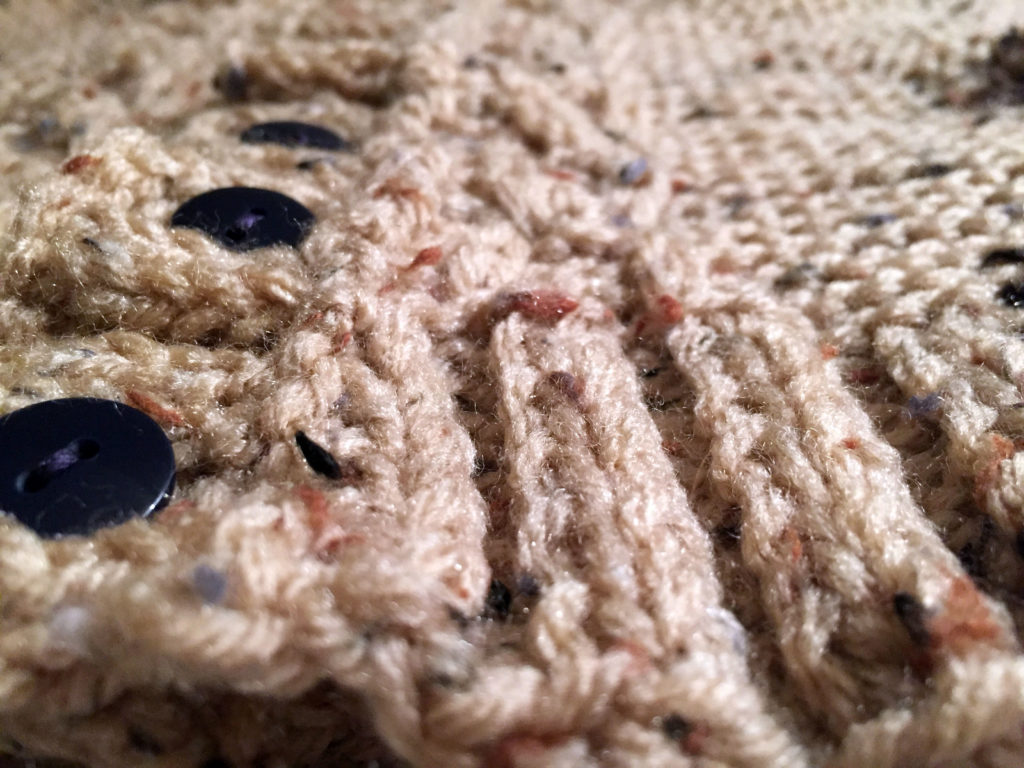Sweater Front Close Up
